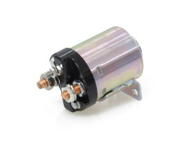 Start Solenoid - Plain. Fits Big Twin 1965-1986 with 4 Speed Transmission, Softail 1984-1988 & Sportster 1967-1980.