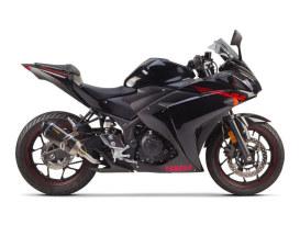 Carbon Muffler. Fits Yamaha Yamaha YZF-R3 2015up.