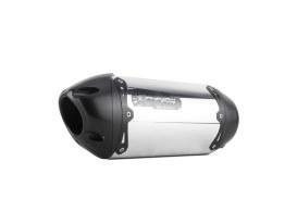 Black Series Aluminum Slip-On Muffler. Fits Suzuki DR650 1998up