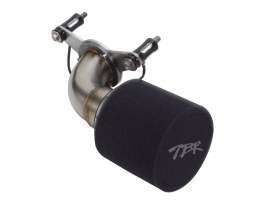 Moto Intake Air Filter Assembly with Stainless Steel Finish. Fits Dyna 1999-2017.