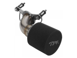 Moto Intake Air Filter Assembly with Stainless Steel Finish. Fits M8 Touring 2017up & Softail 2018up.