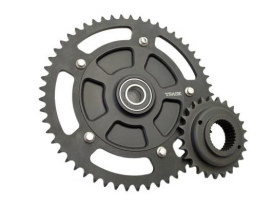 FLH Cush Drive Chain Conversion Kit with 54 Teeth Sprocket. Fits Touring 2009up.
