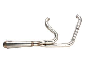 Assault 2-into-1 Exhaust - Stainless Steel. Fits Touring 2007-2016.