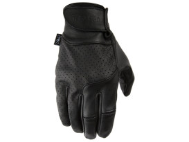 Black Insulated Siege Leather Gloves - Size Large.