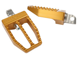 Militant Footpegs with HD Male Mount - Gold.