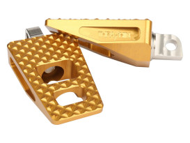 P-54 Footpegs with HD Male Mount - Gold.