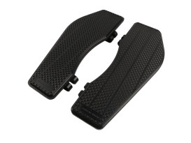Black Bagger Rider Floorboards. Fits Touring 1982up & FL Softail 1986-2017.