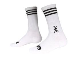 Thrashin Supply Striped Socks - White