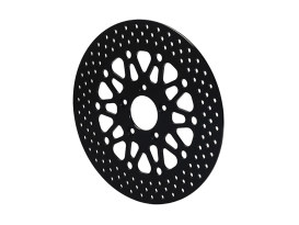 11.5in. Front Disc Rotor - Black Stainless Steel. Fits Big Twin & Sportster 1984-1999.