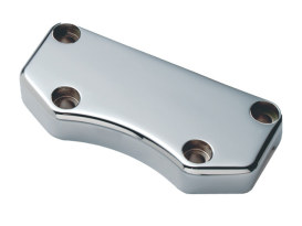 Top Clamp; Exposed Bolts Smooth Chr
