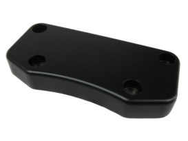 Top Clamp; Exposed Bolts Smooth Satin Blk