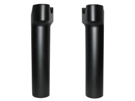 6in. Tall Risers with 1-1/4in. Thick Base - Satin Black. Fits 1in. Handlebar.