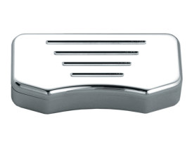Handlebar Milled Top Clamp with Hidden Bolts - Chrome.
