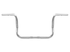 10in. x 1-1/4in. Chuppy Bagger Ape Handlebar - Chrome. Fits Touring 1996up with Fairing.
