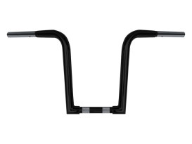 12in. x 1-1/4in. Chubby OutlawZ Ape Hanger Handlebar with Narrow Bottom - Gloss Black.
