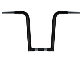 14in. x 1-1/4in. Chubby OutlawZ Ape Hanger Handlebar with Narrow Bottom - Gloss Black.