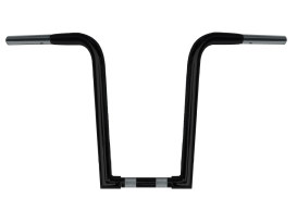 16in. x 1-1/4in. Chubby OutlawZ Ape Hanger Handlebar with Narrow Bottom - Gloss Black.