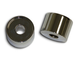1in. Tall x 1-1/4in. Thick Riser Spacers - Chrome.