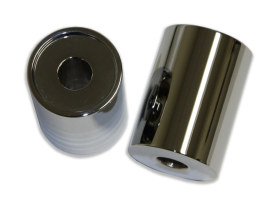 2in. Tall x 1-1/4in. Thick Riser Spacers - Chrome.