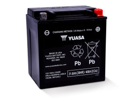 Premium Quality AGM Motorcycle Battery. Fits FLH Touring Models 1997up.