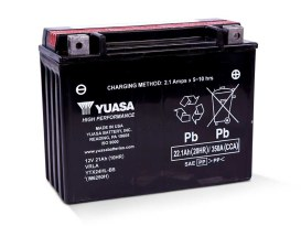 Premium Quality AGM Motorcycle Battery; Fits FLH Touring Models 1980-1996.